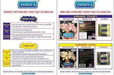 Cách phân biệt BCS Innova hàng thật chính hãng, hàng fake