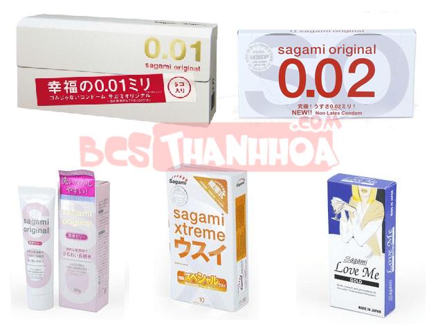 Đại lý BCS, gel bôi trơn Sagami Nhật chính hãng tại Thanh Hóa
